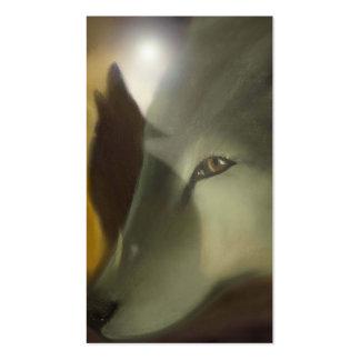 spirit wolves pack of standard business cards