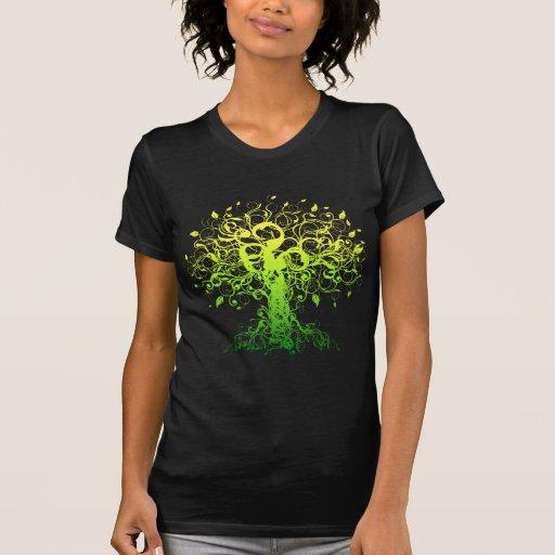 Spirit Yoga Black T-Shirt Tee Shirts