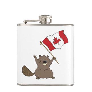 Spirited Canada Day Flask