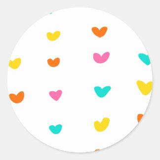 Spirited Hearts - Sticker