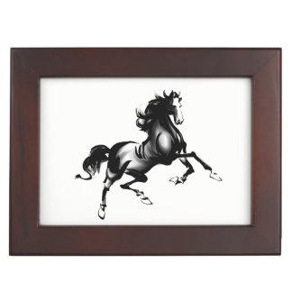 SPIRITED HORSE KEEPSAKE BOX
