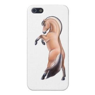 Spirited Norwegian Fjord Horse iPhone Case iPhone 5/5S Cases