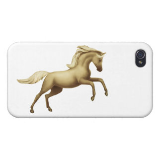Spirited Palomino Horse iPhone 4 Case
