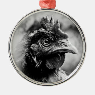spirits and chickens christmas tree ornament