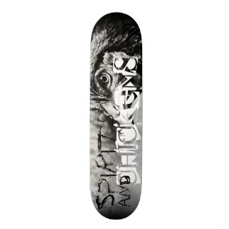 spirits and chickens skateboard deck