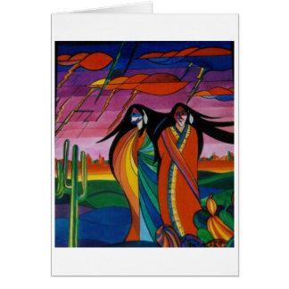 Spirits fo the Desert Card