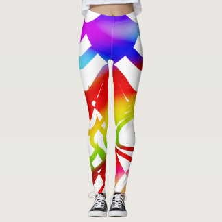 Spirits In Colours Leggings