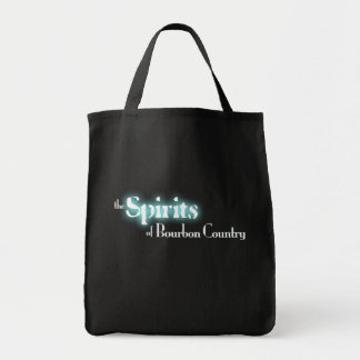 Spirits of Bourbon Country Grocery Tote Bag