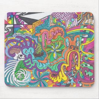 Spirits of Color Run Amok Mouse Mat