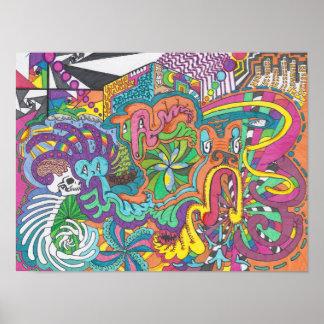 Spirits of Color Run Amok Poster
