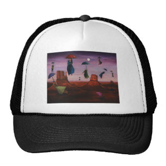 Spirits Of The Flying Umbrellas 2 Mesh Hat