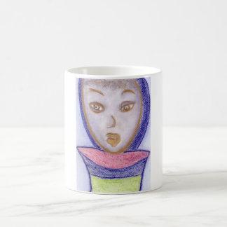 Spiritual Art, Chalk Drawing Mug
