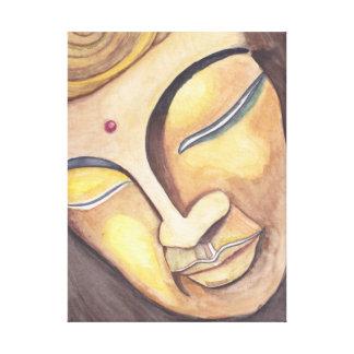 Spiritual Buddha Canvas Print