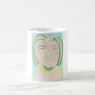 Spiritual Chalk Drawing of Germany, Mug
