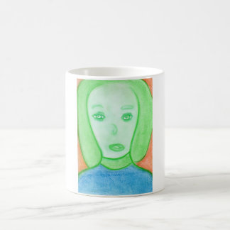 Spiritual Chalk Drawing of Italy, Mug