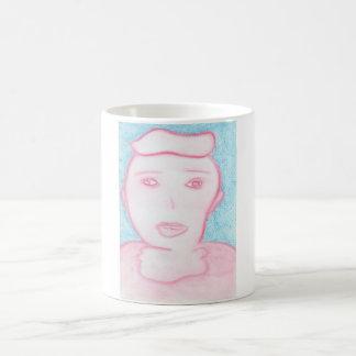 Spiritual Chalk Drawing of The USA, Mug