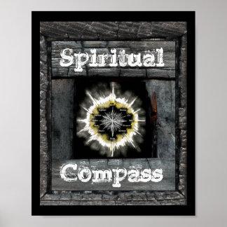 Spiritual Compass Poster