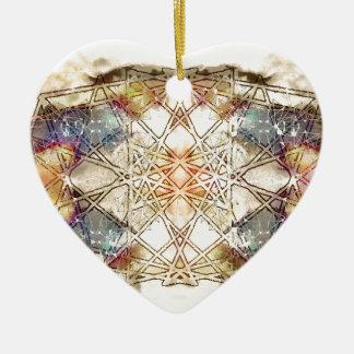 spiritual GALAXY Ceramic Heart Decoration
