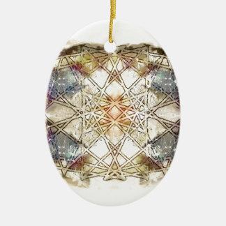 spiritual GALAXY Ceramic Oval Decoration