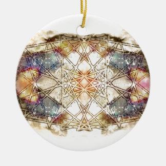 spiritual GALAXY Round Ceramic Decoration