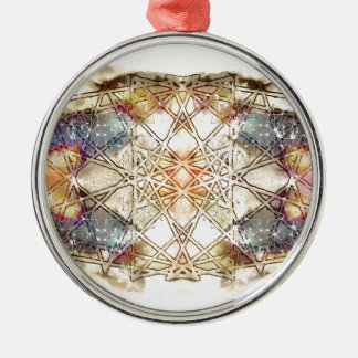 spiritual GALAXY Silver-Colored Round Decoration