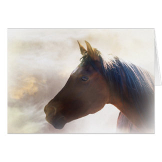 Spiritual Horse Sympathy Card