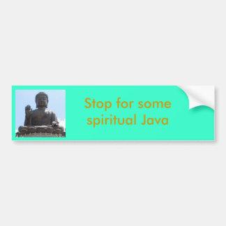 Spiritual Java Bumper Sticker