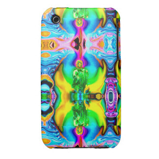SPIRITUAL MADONNA SUNFLOWER COLORFUL ARTISTIC iPhone 3 CASES