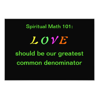 spiritual math 101 arts and posters photo