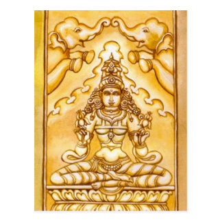 Spiritual Meditation Postcard India