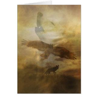 Spiritual Metaphysical South Western Sympathy Card