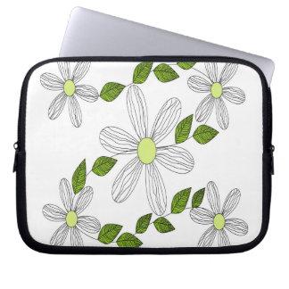 Spiritual of the flowers laptop sleeve
