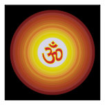 Spiritual Om Design Posters