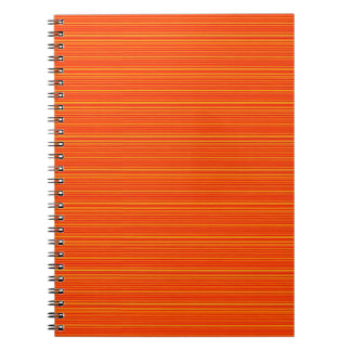 Spiritual Orange Add GREETING Text or buy plain Spiral Note Books