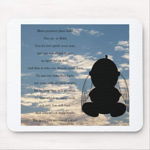 Spiritual Poem Mouse Pads
