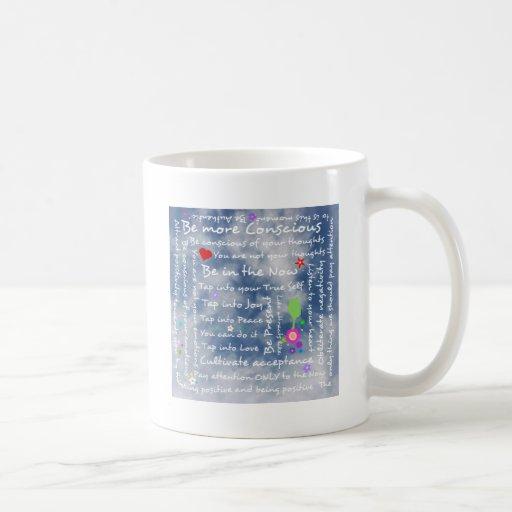 Spiritual positive affirmations mugs