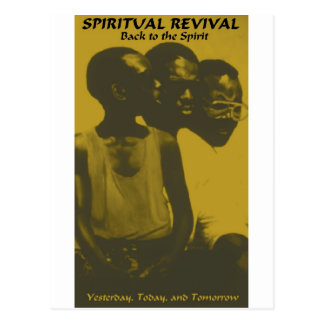SPIRITUAL REVIVAL products Postcard