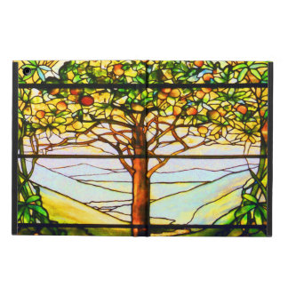 Spiritual Scenic Landscape Tiffany Window iPad Air Cover