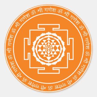 Spiritual Shree Yantra Sticker