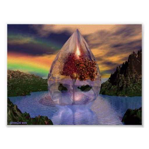 Spiritual Tear Poster