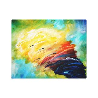 spiritual tornado canvas print