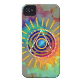 Spiritual Tyedye iPhone 4 Case-Mate Cases