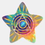 Spiritual Tyedye Sticker