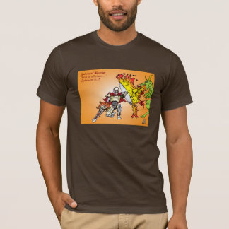 Spiritual Warrior By Faith/Conqueror T-Shirt