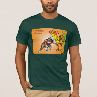 Spiritual Warrior by Faith T-Shirt