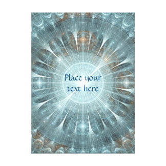 Spiritual Window Canvas Print