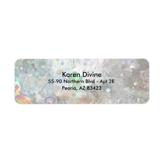 Spiritual World Return Address Label