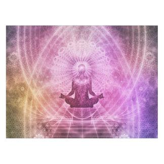 Spiritual Yoga Meditation Zen Colorful Tablecloth