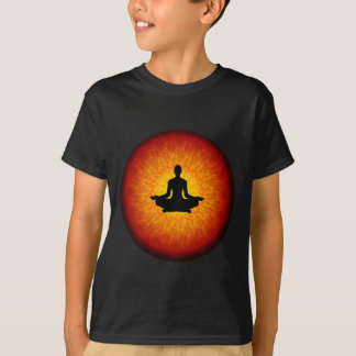 Spiritual Yoga On Mandala T-Shirt
