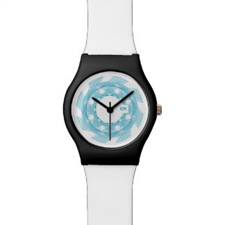 SPIRO | circular geometric pattern Wristwatch